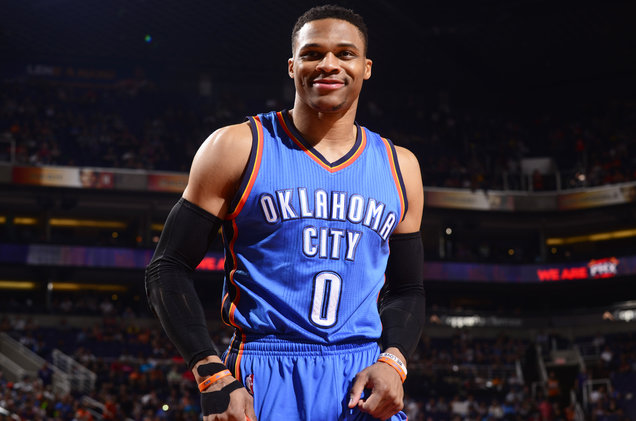 Oklahoma City Thunder Player Russell Westbrook