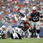 Oakland Raiders vs. New England Patriots