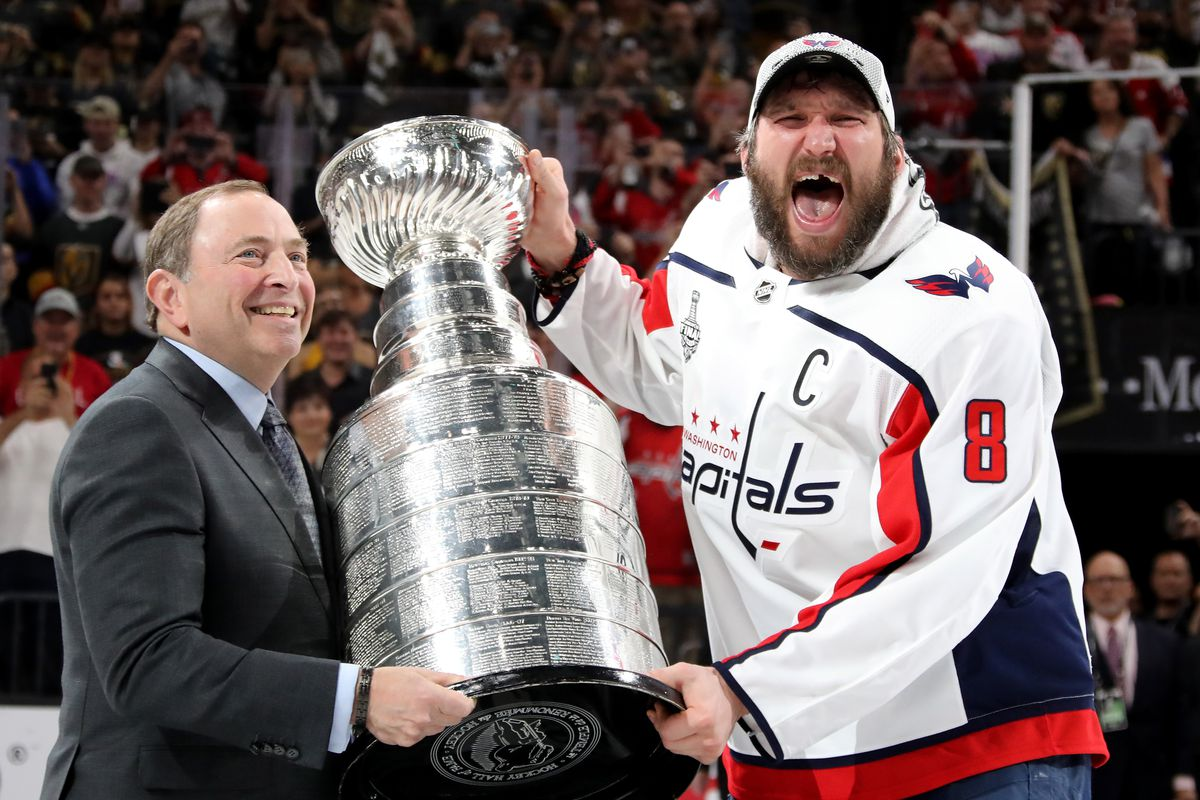 2017-18 NHL Stanley Cup Champions Washington Capitals