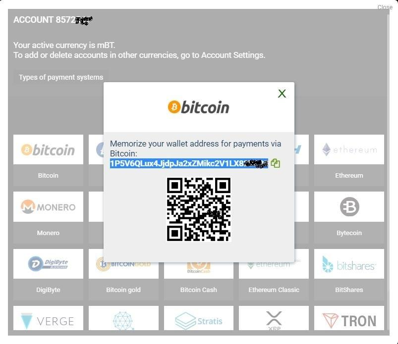 1xBit Bitcoin Wallet Address