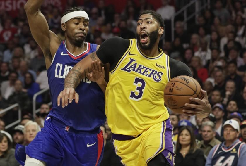 Los Angeles Lakers Anthony Davis