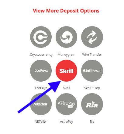 BetOnline Skrill Deposit