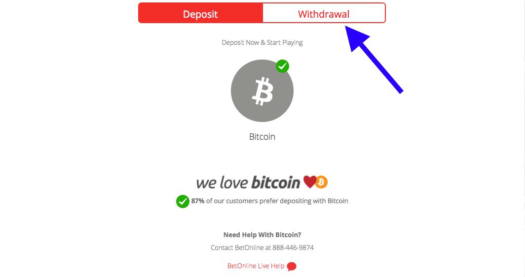 BetOnline Withdrawal