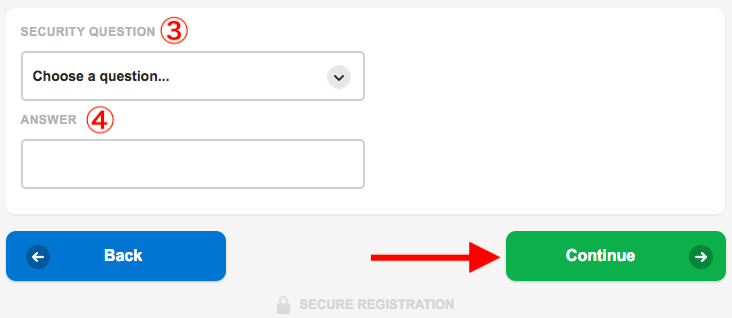 Betfred Register