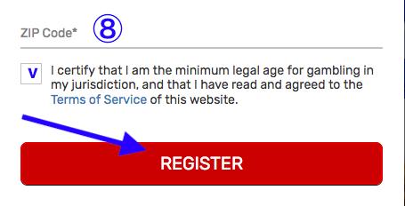 Bovada Registration