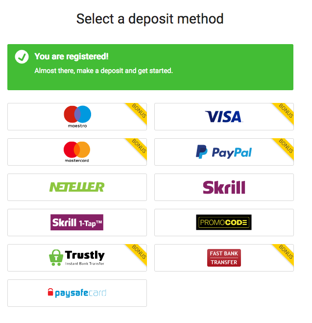 Bwin Deposit