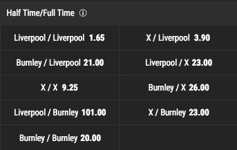 Bwin Half Time:Full Time