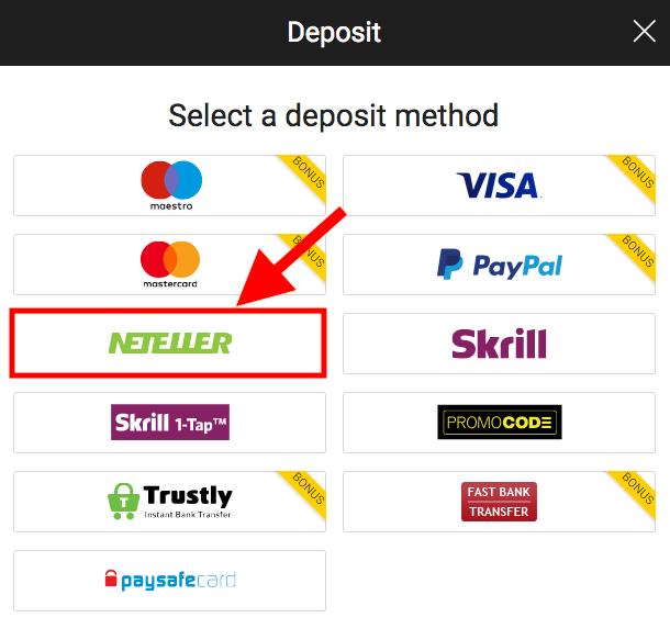 Bwin Neteller Deposit