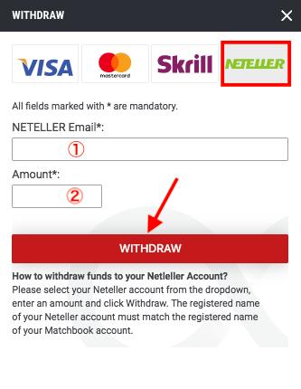 Matchbook Neteller Withdrawal