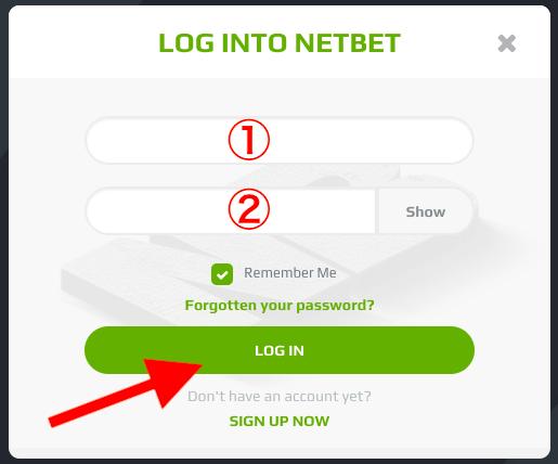 NetBet Login