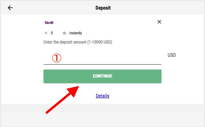 Pari Match Skrill Deposit