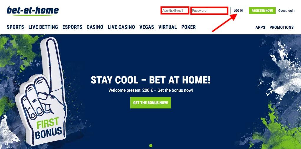 bet-at-home Login