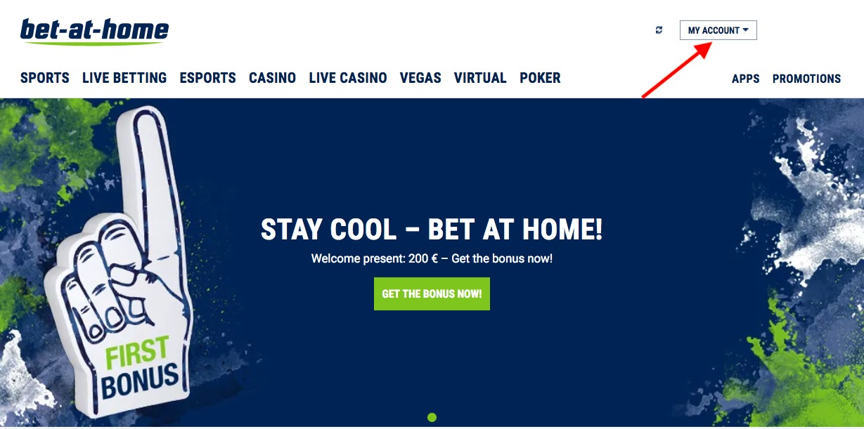 bet-at-home My Account