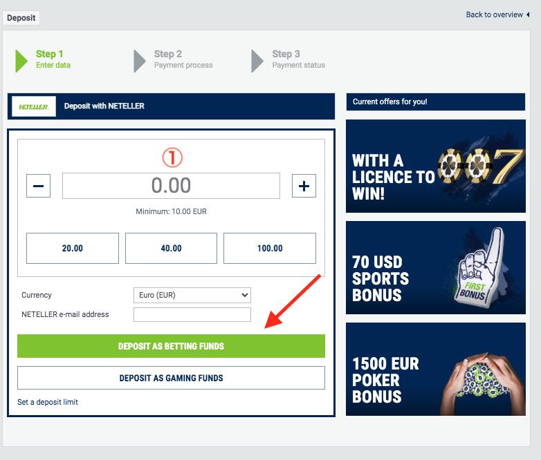 bet-at-home Neteller Deposit
