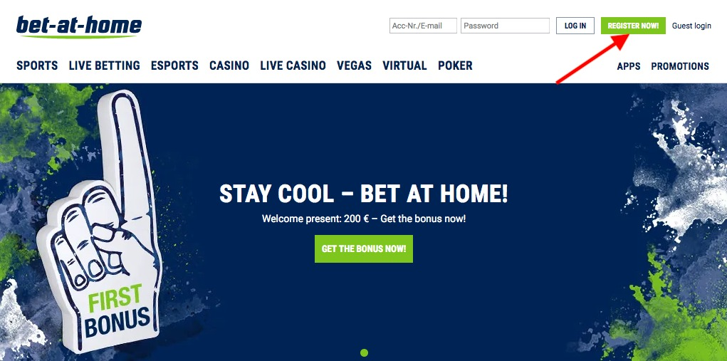 bet-at-home Register