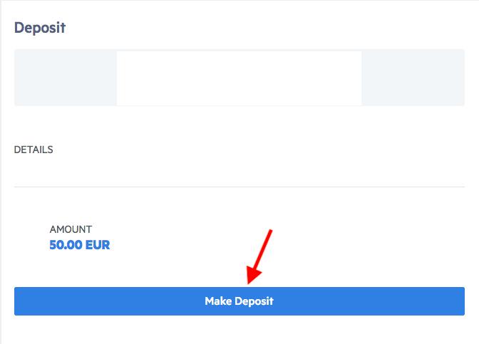 BetOnValue Deposit