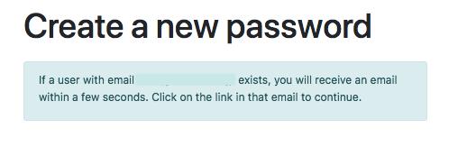 RebelBetting Create Password