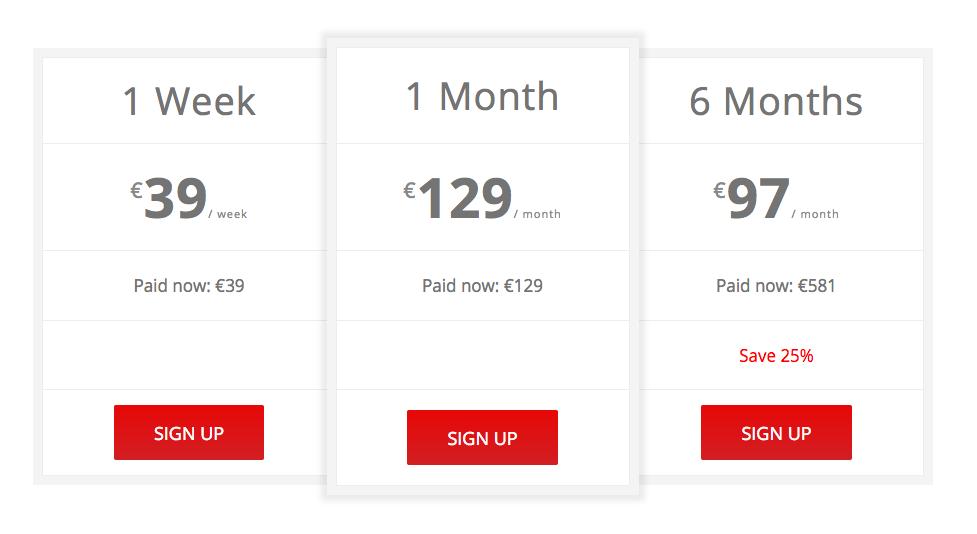 RebelBetting Pro Pricing