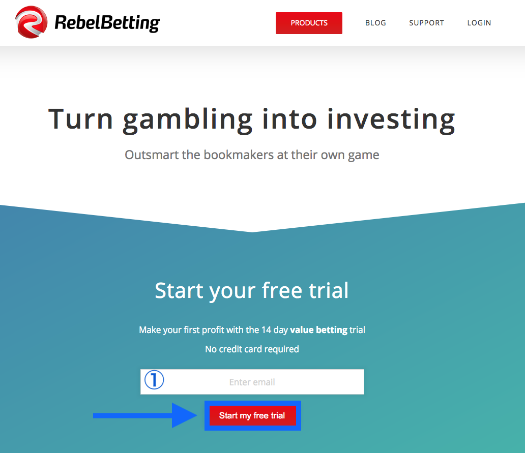 RebelBetting Register