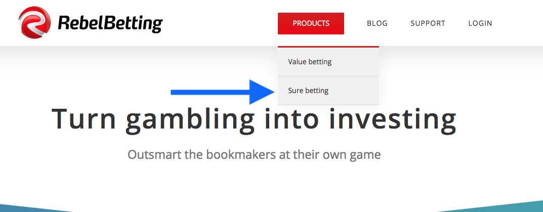 RebelBetting Sure Betting