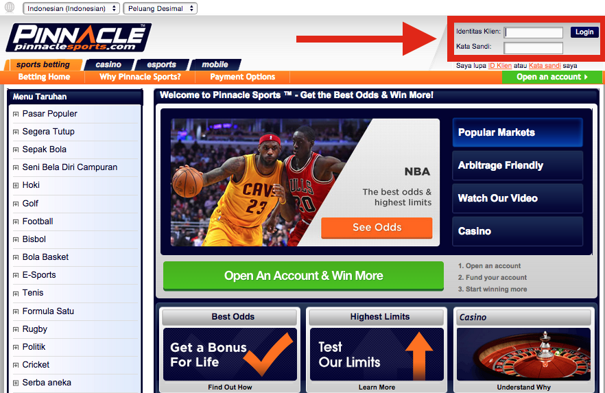 Pinnacle Sports Neteller