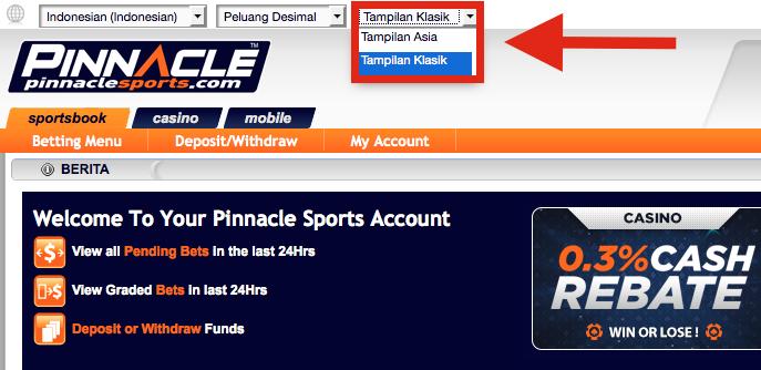 Pinnacle Sports Taruhan
