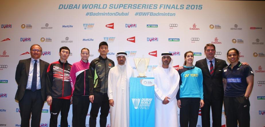 Undian & Konferensi Pers World Superseries Dubai 2015