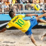 Beach Soccer Footballers