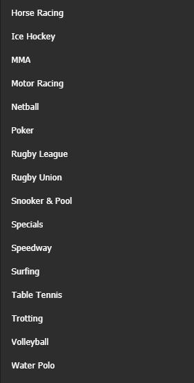 Kategori Olahraga