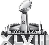 NFL スーパーボウル XLVIII ロゴ