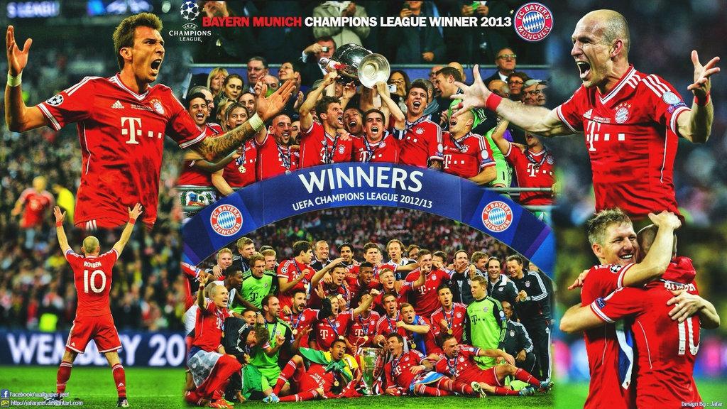 2012-2013 UEFA チャンピオンズリーグ優勝 バイエルン・ミュンヘン