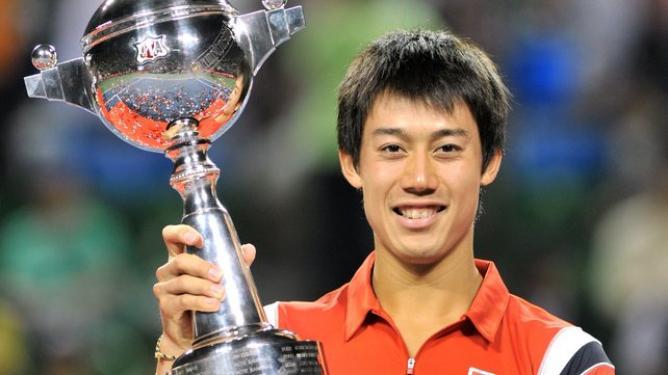 2012年 楽天ジャパン・オープン優勝 錦織 圭