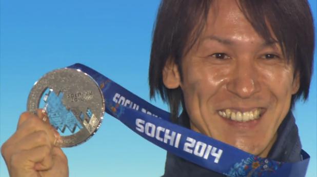 スキージャンプ男子個人ラージヒル 表彰式