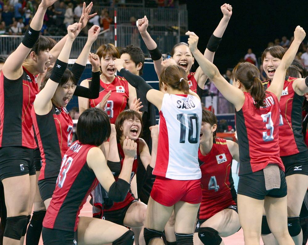 ロンドン五輪で日本が銅メダル獲得