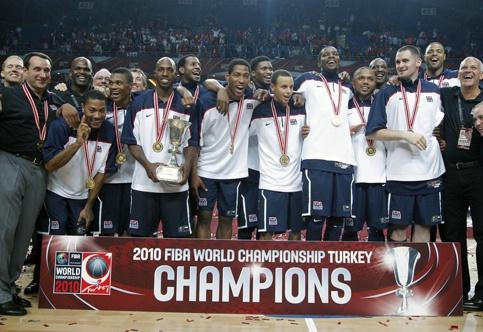2010 FIBA World Cup Champions - Team USA