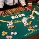 カジノブラックジャックテーブル