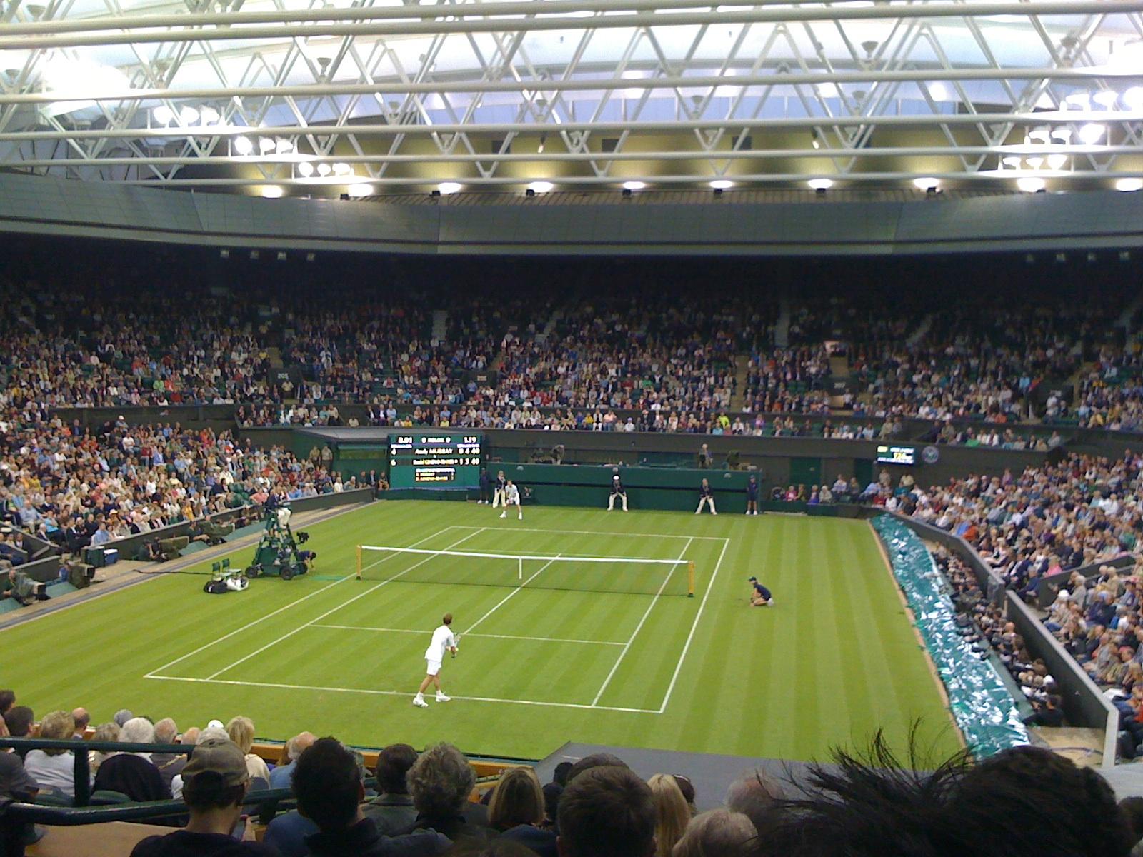オールイングランド・ローンテニス・アンド・クローケー・クラブセンターコート