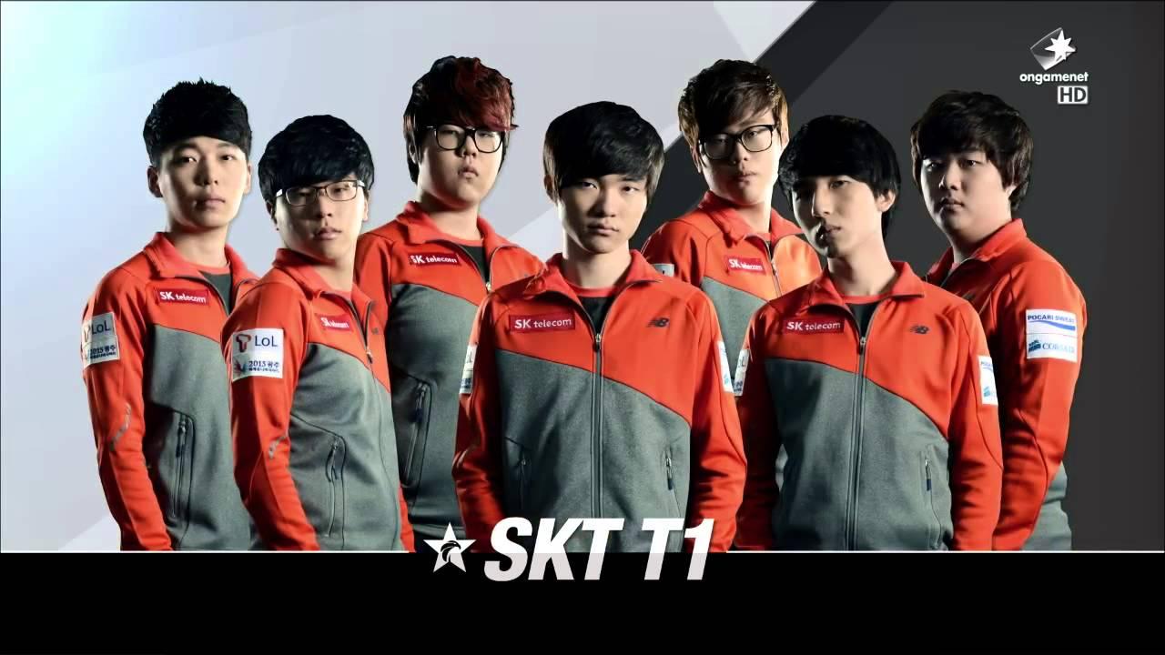 SK Telecom T1ロスター写真