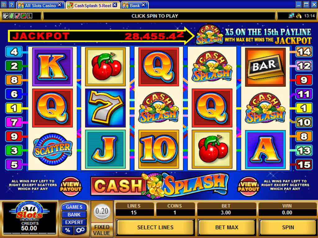 オンラインカジノのゲーム(スロット)