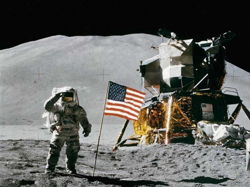 ニール・アームストロングの月面着陸