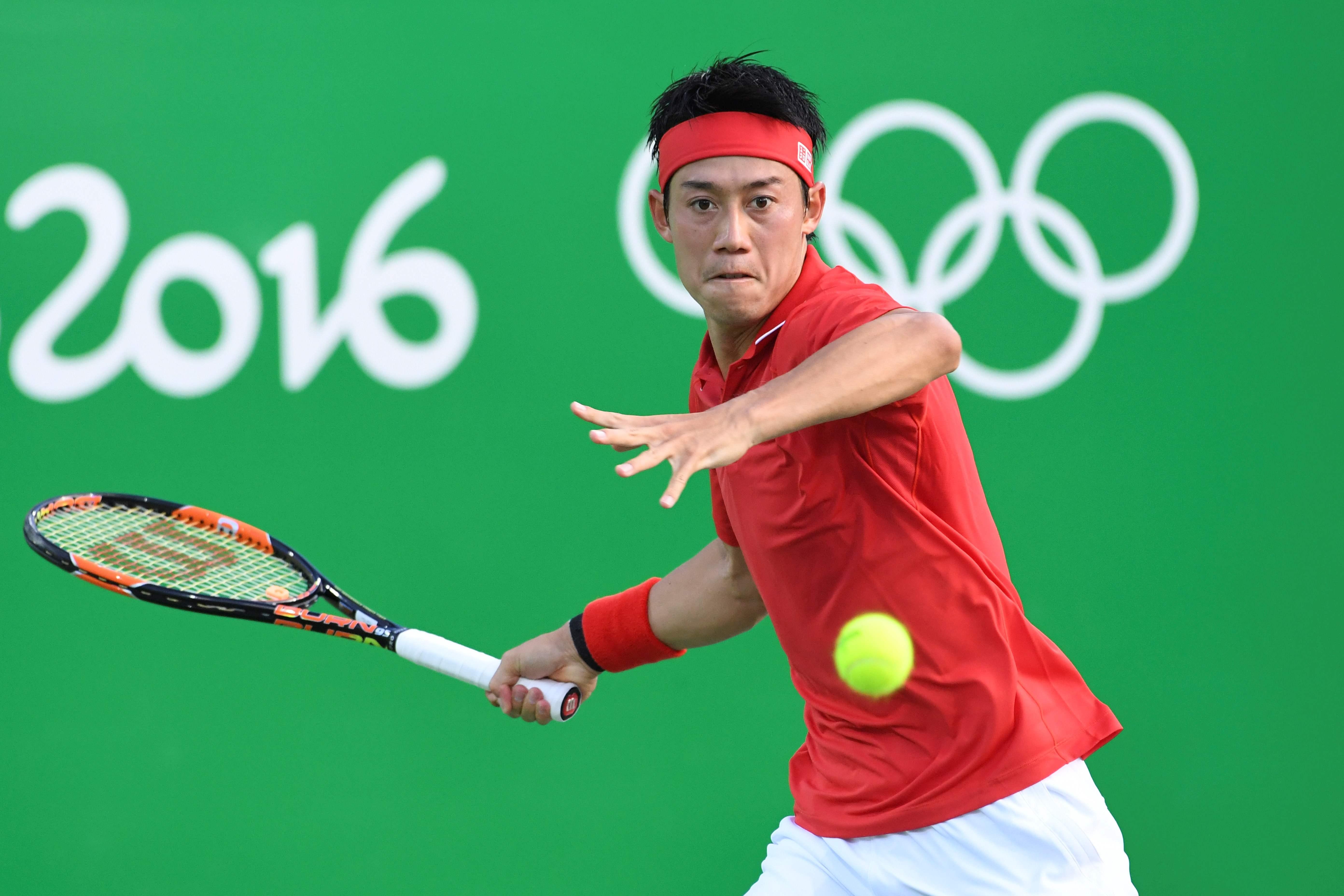 リオ五輪で銅メダルを獲得した錦織圭