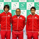 デビスカップ2016に挑む日本代表