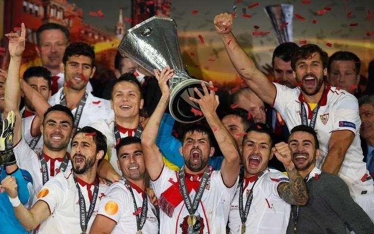 UEFAヨーロッパリーグ2015-2016 セビージャ優勝