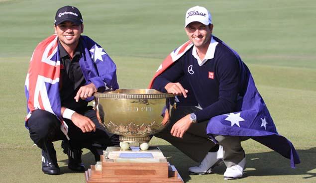 2013年大会を制したジェイソン・デイとアダム・スコット(オーストラリア)