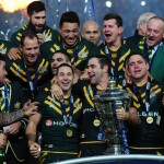 ラグビーリーグ・ワールドカップ2013を制したオーストラリア