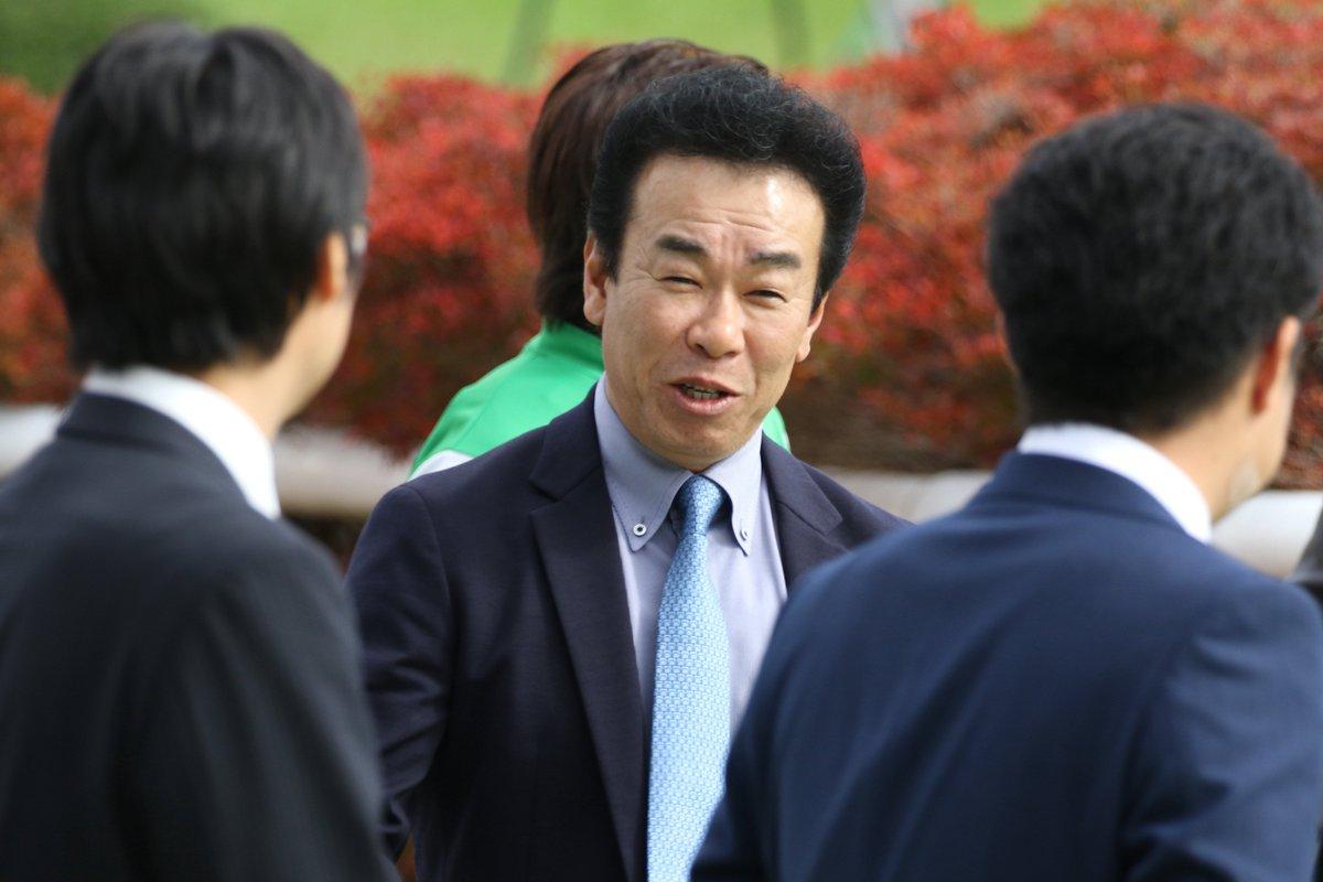 藤原英昭調教師
