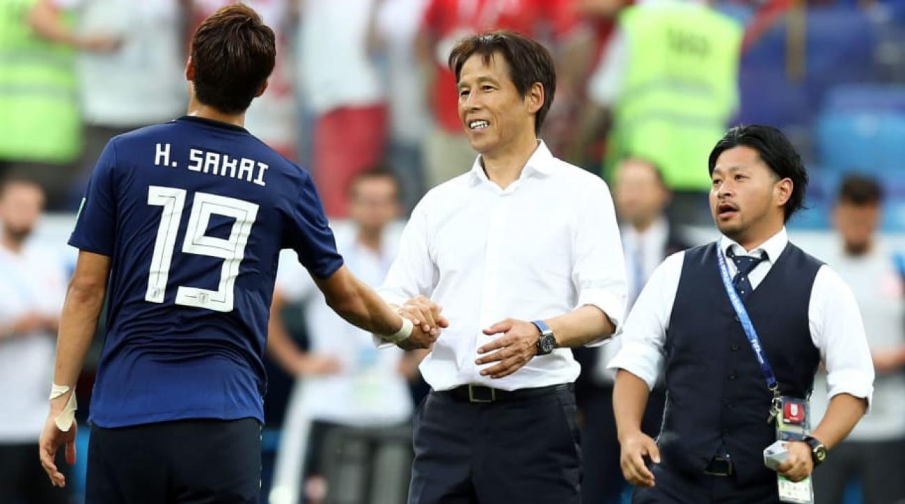 西野朗監督(日本代表)