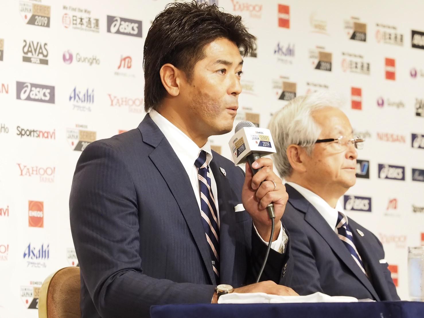 稲葉篤紀監督(日本代表)