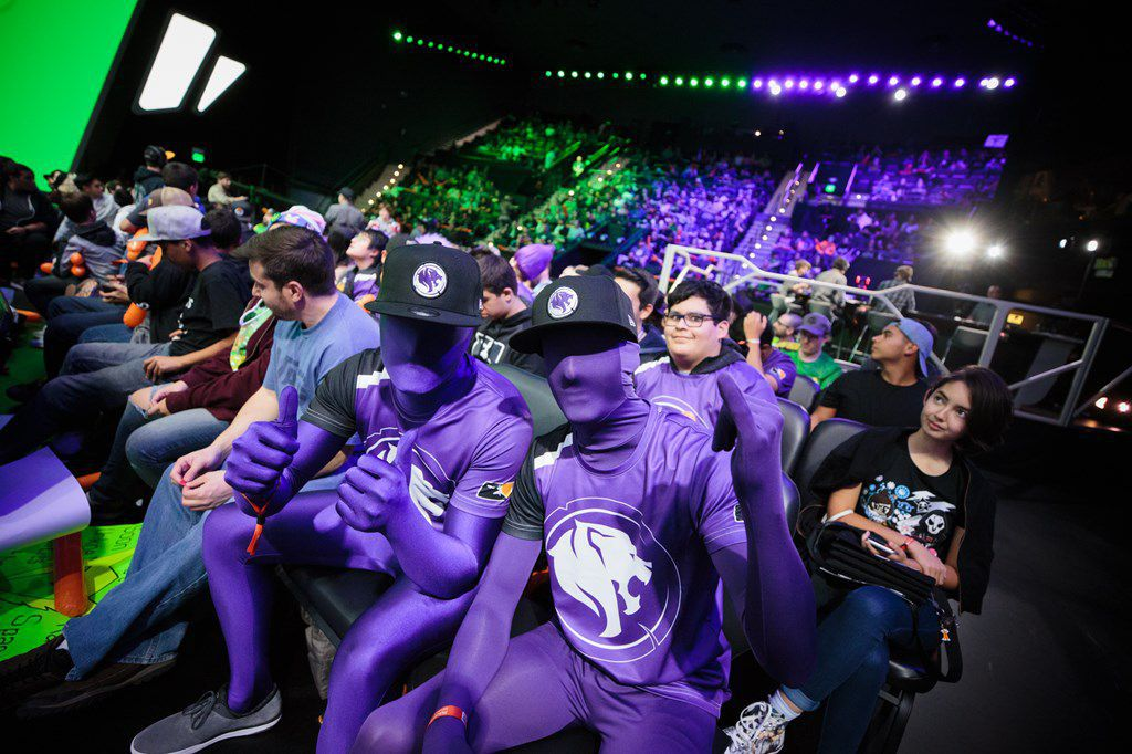 Los Angeles Gladiators Fans