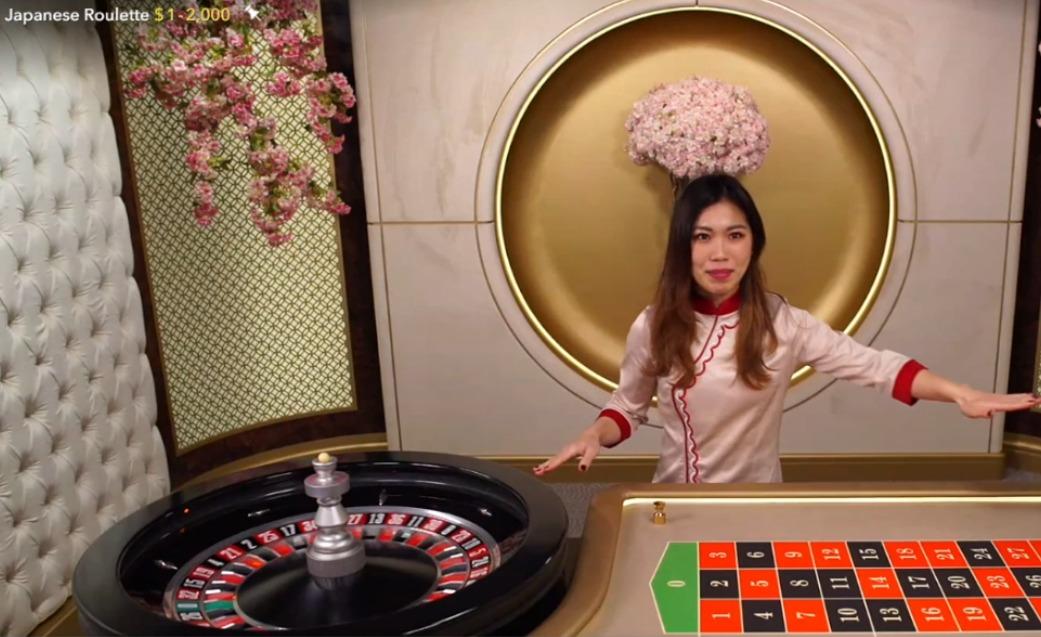 エボリューションゲーミングライブカジノ